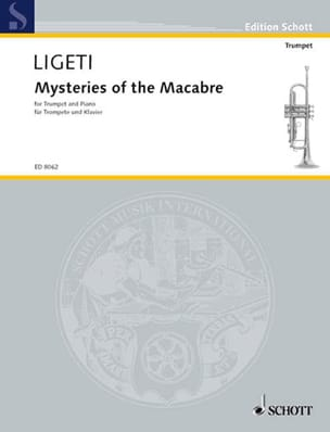 Mysteries Of The Macabre LIGETI Partition Trompette - laflutedepan
