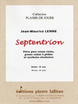 Septentrion Jean-Maurice Lenne Partition Caisse-claire - laflutedepan