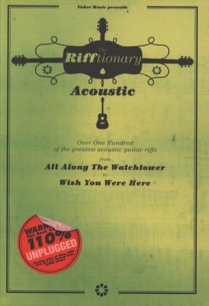 The Rifftionary Acoustic Guitar - Partition - laflutedepan.com