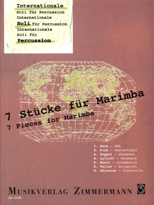 7 Stücke Für Marimba Partition Marimba - laflutedepan