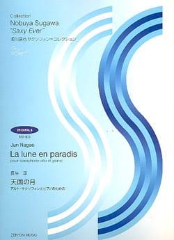 La Lune En Paradis Jun Nagao Partition Saxophone - laflutedepan