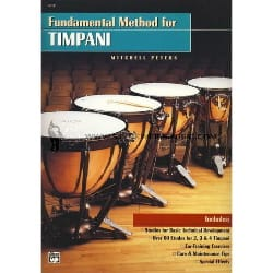 Fundamental Method For Timpani Mitchell Peters Partition laflutedepan