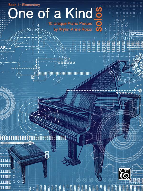 One of a Kind Solos, Book 1 - Rossi Wynn-Anne - laflutedepan.com