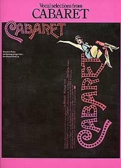 Cabaret John Kander Partition Comédie musicale - laflutedepan