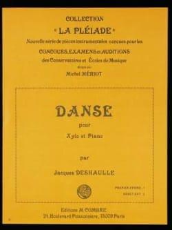 Danse Jacques Deshaulle Partition Xylophone - laflutedepan