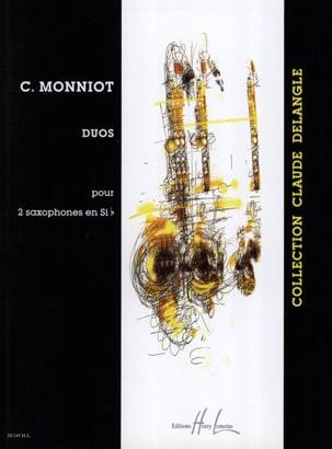 Duos Pour 2 Saxophones En Sib Christophe Monniot laflutedepan