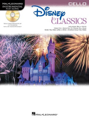 Disney Classics - Play-Along - Violoncelle DISNEY laflutedepan