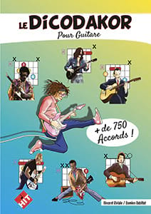 Le DICODAKOR pour Guitare Partition Guitare - laflutedepan