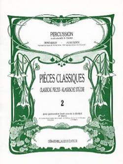 Pièces Classiques Volume 2 Partition Marimba - laflutedepan