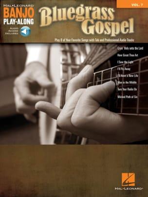 Banjo Play-Along Volume 7 - Bluegrass Gospel Partition laflutedepan