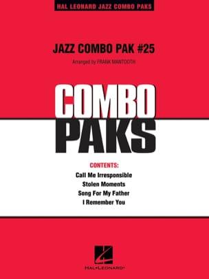 Jazz Combo Pak # 25 Partition ENSEMBLES - laflutedepan