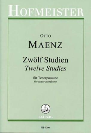 Twelve Studies - 12 études pour Trombone ténor - laflutedepan.com
