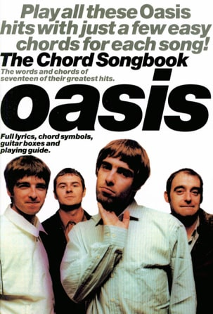 Oasis - The Chord Songbook Oasis Partition Pop / Rock - laflutedepan