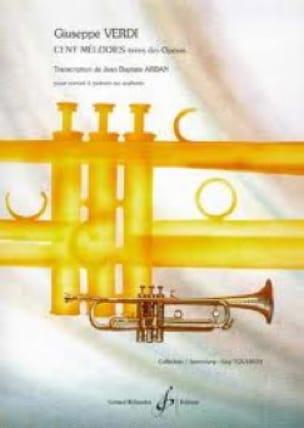 Cent Mélodies - VERDI - Partition - Trompette - laflutedepan.com