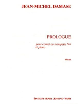 Prologue - Jean-Michel Damase - Partition - laflutedepan.com