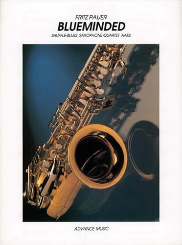 Blueminded - Fritz Pauer - Partition - Saxophone - laflutedepan.com