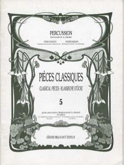 Pièces Classiques Volume 5 Partition laflutedepan