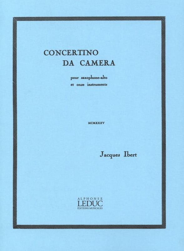 Concertino Da Camera - IBERT - Partition - laflutedepan.com