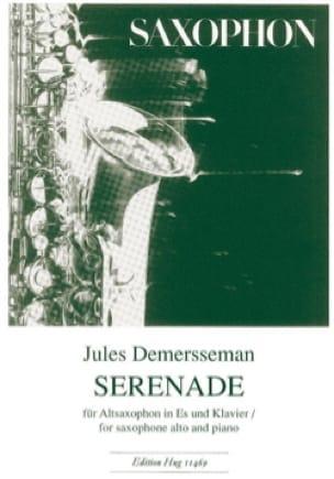 Sérénade - Jules Demersseman - Partition - laflutedepan.com