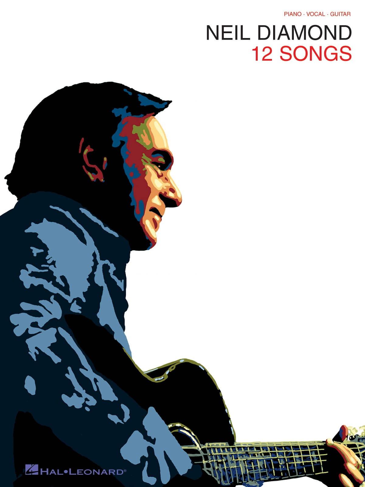12 Songs - Neil Diamond - Partition - Pop / Rock - laflutedepan.com