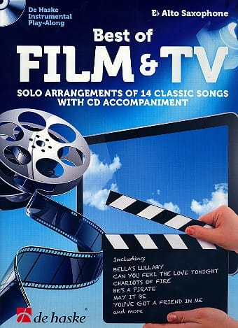 Best of film & TV - Partition - Saxophone - laflutedepan.com