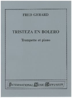 Tristeza En Boléro Fred Gerard Partition Trompette - laflutedepan