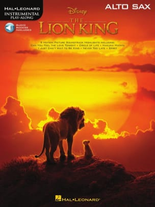 Le Roi Lion - Musique du film pour Saxo Alto DISNEY laflutedepan