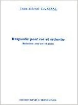Rhapsodie - Jean-Michel Damase - Partition - Cor - laflutedepan.com
