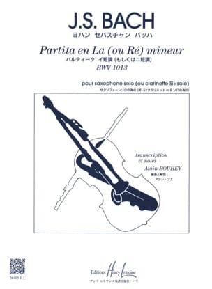 Partita En la Ou Ré Mineur BWV 1013 BACH Partition laflutedepan
