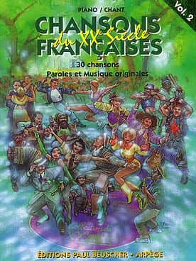 Chansons Françaises du 20e siècle volume 2 Partition laflutedepan