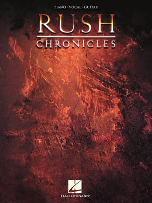 Chronicles - Rush - Partition - Pop / Rock - laflutedepan.com