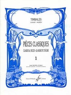 Pièces Classiques Volume 1 Partition Timbales - laflutedepan