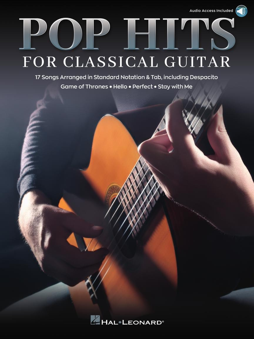 Pop Hits for Classical Guitar - Partition - laflutedepan.com