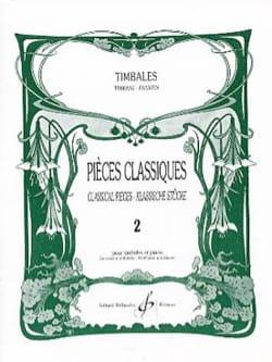 Pièces Classiques Volume 2 Partition Timbales - laflutedepan