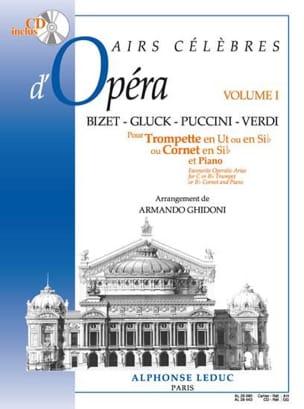 Airs célèbres d'opéra volume 1 Partition Trompette - laflutedepan