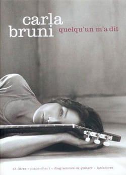 Carla Bruni - Someone told me - Partition - di-arezzo.co.uk