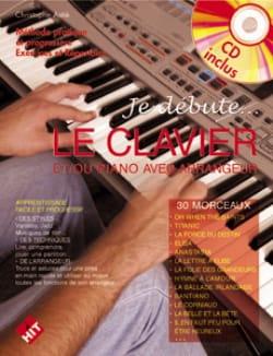 Christophe Astié - I start the keyboard - Partition - di-arezzo.co.uk