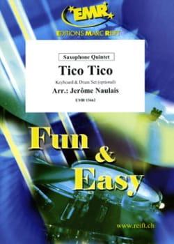 Tico Tico Zequinha Abreu Partition Saxophone - laflutedepan