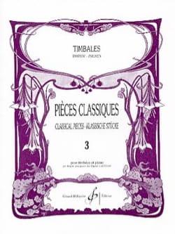 Pièces Classiques Volume 3 Partition Timbales - laflutedepan