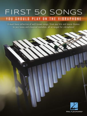 First 50 Songs You Should Play on Vibraphone Partition laflutedepan