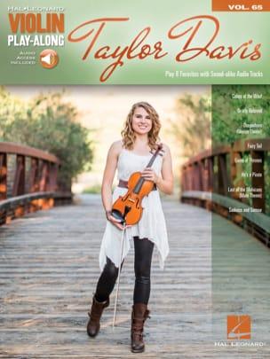 Violin Play-Along Volume 65 - Taylor Davis Taylor Davis laflutedepan