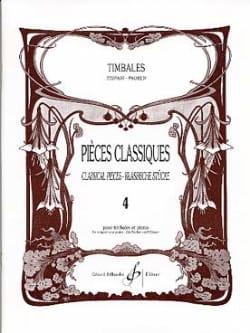Pièces Classiques Volume 4 Partition Timbales - laflutedepan