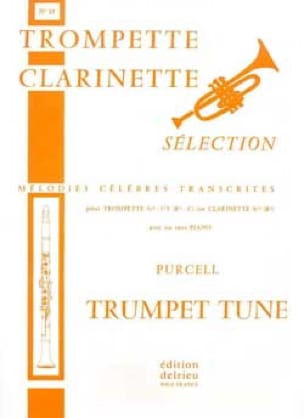 Trumpet Tune N° 15 - PURCELL - Partition - laflutedepan.com
