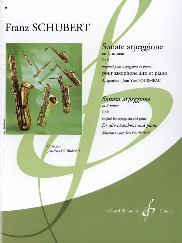 Sonate Arpeggione En la Mineur D 821 - SCHUBERT - laflutedepan.com