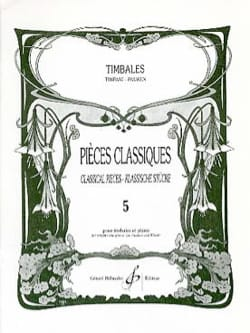 Pièces Classiques Volume 5 Partition Timbales - laflutedepan
