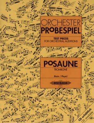 Orchester probespiel Partition Trombone - laflutedepan