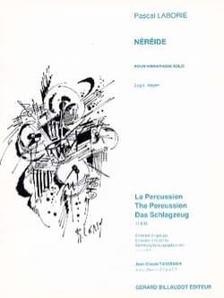 Néréide Pascal Laborie Partition Vibraphone - laflutedepan