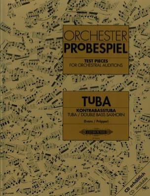 Orchester Probespiel Partition Tuba - laflutedepan