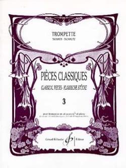 Pièces Classiques Volume 3 Partition Trompette - laflutedepan