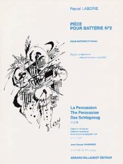 Pièce Pour Batterie N° 2 Pascal Laborie Partition laflutedepan